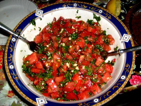 salata de rosii la cura